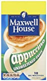 Maxwell House Cappuccino Unsweetened 158 g (Pack of 5)