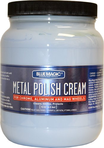 Blue Magic 550-02PK Metal Polish Cream - 1.89 Liter, (Pack of 2) (Car Polish Cream compare prices)