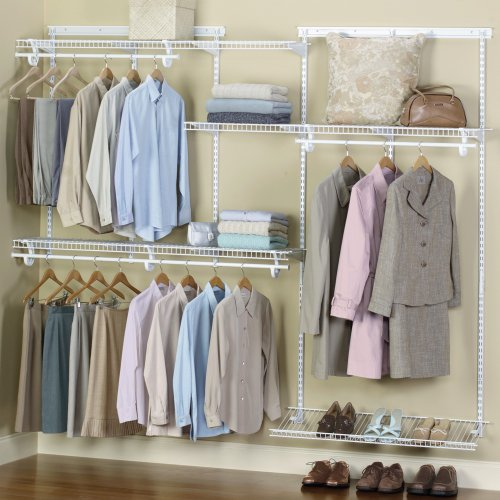 ClosetMaid ShelfTrack Closet Organizer Kit With Shoe Shelf