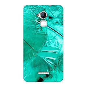 Cyan Feather Back Case Cover for Coolpad Note 3