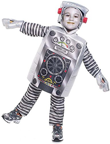Child's Toddler Robot Costume (Size: 2-4T) (Disfraces Robot compare prices)