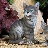 Sitting Kitten Garden Ornament