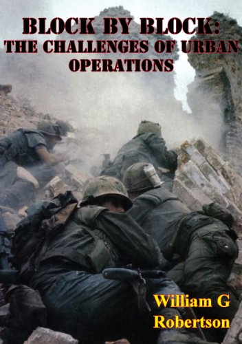 Block By Block: The Challenges Of Urban Operations [Illustrated Edition] (The Pickle Challenge compare prices)