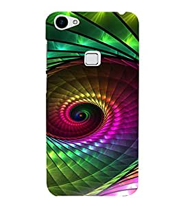 PRINTVISA Abstract Pattern Case Cover for VIVO X6