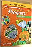 Common Core Progress Mathematics- Grade 4 Teacher's Edition Paperback - 2014