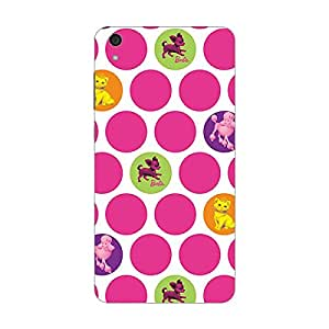 Garmor Designer Silicone Back Cover For Reliance Lyf Water 7