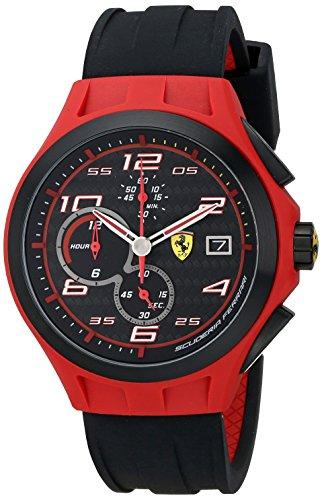 Ferrari 0830017 - Reloj para hombres, correa de silicona
