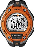 Timex Men's T5K529  Ironman Traditional Black and Orange 30-Lap Sport Watch