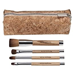 Product Image Sonia Kashuk® Out of the Woods 4-pc. Brush Set with Purse