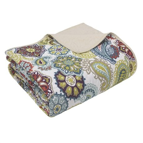 """Mizone Tamil Quilted Throw - Multi - 60X70"""" front-447099"""