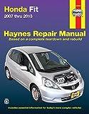 img - for Honda Fit 2007 thru 2013 (Haynes Repair Manual) book / textbook / text book