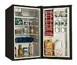 haier hc40sg42sb 4 cubic feet refrigerator freezer black
