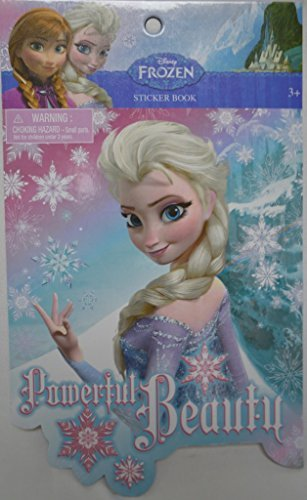 Frozen 5 Page Sticker Book [48 Pieces] *** Product Description: Frozen 5 Page Sticker Book. Disney'S Frozen Sticker Collection. Fun Character Stickers. Ages 3 And Up. Quantity: 5 Full Pages Age Range: 3 And Up Brand: Disney'S Frozen *** - 1