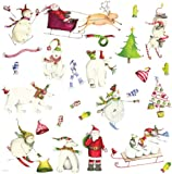 RoomMates RMK1182SCS Winter Holiday Peel & Stick Wall Decals