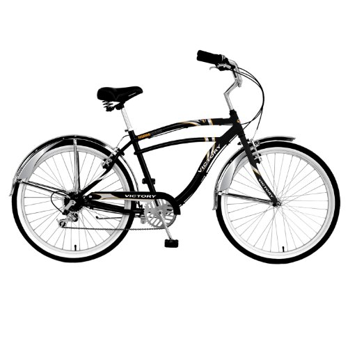 Victory Touring Cruiser Men's Cruiser Bike (26-Inch Wheels)