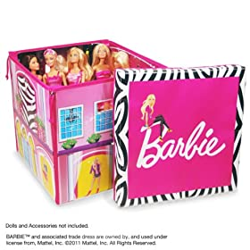Buy Neat-Oh! Barbie ZipBin Dream House Toybox & Playmat by Neat-Oh