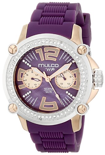 MULCO Women's MW2-28086S-054 Analog Display Swiss Quartz Purple Watch