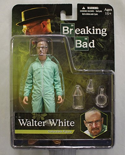 Breaking Bad Walter White Blue Green Hazmat Suit Exclusive Figure