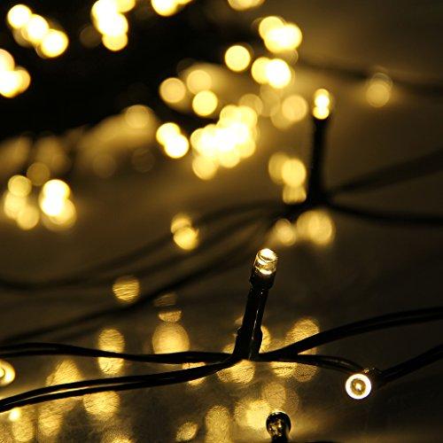 Led rgb luces navide as decoraci n con alimentaci n solar - Luces navidenas solares ...