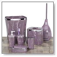 Marble Purple Haze Bath Collection