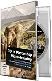 3D in Photoshop-Video-Training: Heize deinen Ideen von allen 3 Seiten ein!