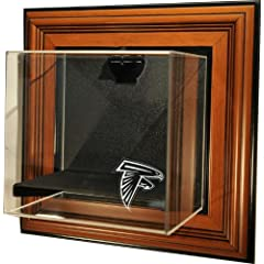 NFL Atlanta Falcons Mini-Helmet Case-Up Display Case with Museum Quality UV Upgrade by Caseworks
