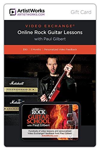 Artistworks Gift Card - Online Rock Guitar School With Paul Gilbert front-860464