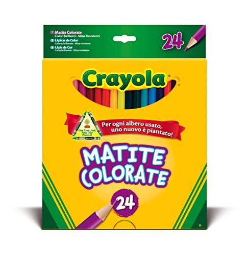 - 24coloured Pencils 3.3624 5052415644152 By Crayola
