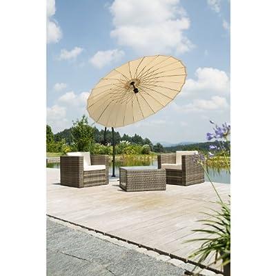 Schneider 619-02 Ampelschirm Lotus 270 cm, rund, von Schneider auf Gartenmöbel von Du und Dein Garten