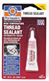 Permatex 59214 High Temperature Thread Sealant, 6 ml Tube