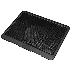 WireSwipe Top Seeling Laptop Cooling Pad USB Powered with Silent Fan - (Black) - 1 Year Warranty