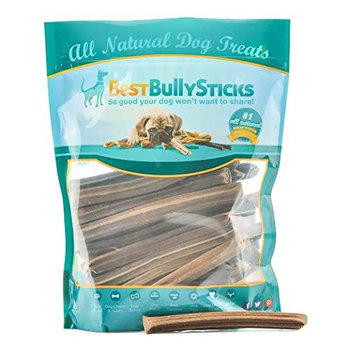 save 37 daily dental bully treats by best bully sticks 30 pack american made dog treats. Black Bedroom Furniture Sets. Home Design Ideas