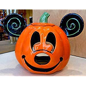 Click to buy Halloween Outdoor Lights: Disney Mickey Mouse Halloween Pumpkin Candle Holder from Amazon!