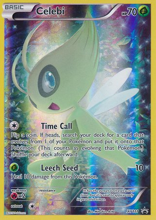 Celebi Holo Promo XY 111 Mythical Pokémon Collection (10 Psychic Energy Pokemon compare prices)