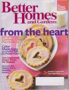 Better Homes And Gardens February 2010 From The Heart
