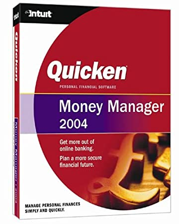 Quicken 2004 Money Manager
