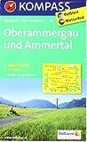 Oberammergau und Ammertal: Wanderkarte mit Aktiv Guide, Radwegen und Loipen. GPS-genau. 1:35000