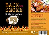Grill Pellets Back to Smoke Hickory 12