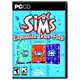 The Sims Expansion Three-Pack Volume 1: Unleashed / Superstar / House Party ~ Electronic Arts
