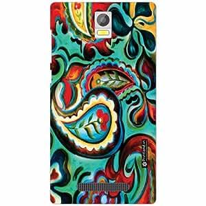 Xolo Era Back Cover - Silicon Pattern Art Designer Cases