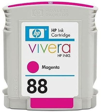 C9387AE - Inhalt: 10ml/ Farbe: magenta/ Reichweite: ca. 620 Seiten mit Farbgrafiken INK CARTRIDGE NO88 MAGENTA