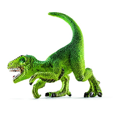 Schleich Velociraptor Toy Figure, Mini