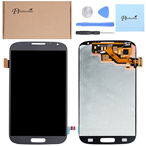 Blue Touch Lcd Digitizer Full Assembly For Samsung Galaxy S4 Iv I9500 I545 M919 I337