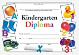 Kindergarten Diploma Fit-in-a-Frame Award (0742403467) by School Specialty Publishing