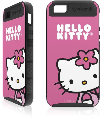 Great Sale Hello Kitty Sitting Pink Apple iPhone 5 Cargo Case