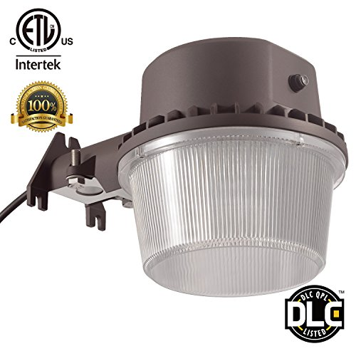35W Dusk-to-dawn LED Outdoor Barn Light (Photocell Included), 250W Equivalent, 5000K Daylight, 3500lm Floodlight, ETL-listed Yard Light for Area Lighting, Wet Location Available, 5-year Warranty