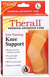 Therall Joint Warming Knee Support, Beige, Large