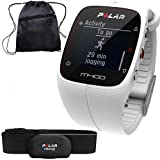M400 Polar Best Deals - Polar 90051345 - M400 GPS Training Companion with Heart Rate with Bag - White