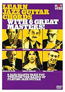 Hot Licks - Learn Jazz Guitar Chords With 6 Great Masters! DVD