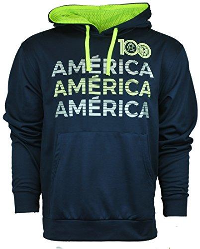 Soccer Athletic Unisex Hoodie Sweatshirt Club America Large (America Soccer Jacket compare prices)